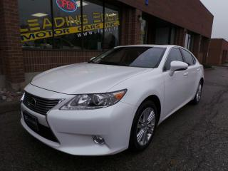 Used 2015 Lexus ES 350 leather, heated and ventilated front seats for sale in Woodbridge, ON