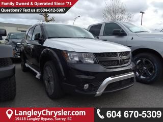 New 2018 Dodge Journey Crossroad CROSSROAD AWD for sale in Surrey, BC