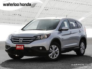 Used 2012 Honda CR-V EX Bluetooth, Back Up Camera, Heated Seats and more! for sale in Waterloo, ON