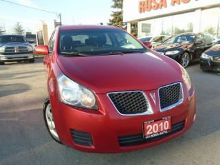 Used 2010 Pontiac Vibe AUXILIARY HATCH  AUTO  NO ACCIDENTS   SAFETY INC for sale in Oakville, ON