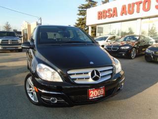 Used 2009 Mercedes-Benz B 200 Turbo PANORAMIC SUNROOF BLUETOOTH HEATED SEATS for sale in Oakville, ON