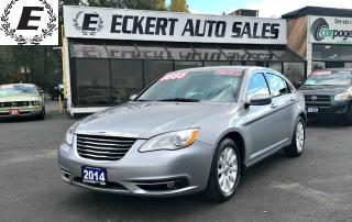 Used 2014 Chrysler 200 TOURING WITH HEATED SEATS for sale in Barrie, ON