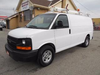 Used 2007 Chevrolet Express 1500 CARGO 5.3L Rack Divider Shelving 156,000KMs for sale in Etobicoke, ON