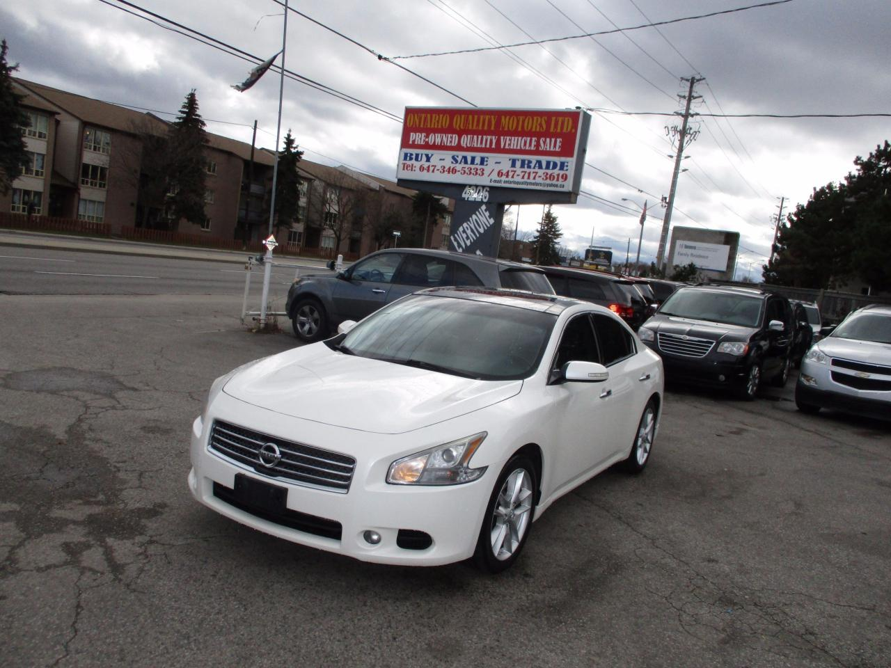 used 2009 nissan maxima 3 5 sv for sale in scarborough ontario. Black Bedroom Furniture Sets. Home Design Ideas