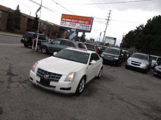 Used 2008 Cadillac CTS w/1SA  LEATHER,SUNROOF LUXURY !!! for sale in Scarborough, ON