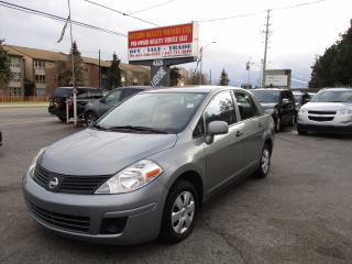 Used 2010 Nissan Versa CE for sale in Scarborough, ON