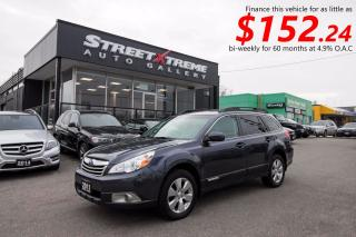 Used 2011 Subaru Outback 3.6R w/Limited & Nav Pkg for sale in Markham, ON