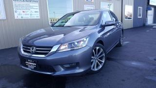 Used 2014 Honda Accord SPORT-HEATED SEATS-ALLOYS-BACK UP CAMERA for sale in Tilbury, ON