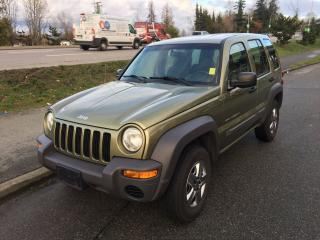 Used 2003 Jeep Liberty Sport for sale in Surrey, BC