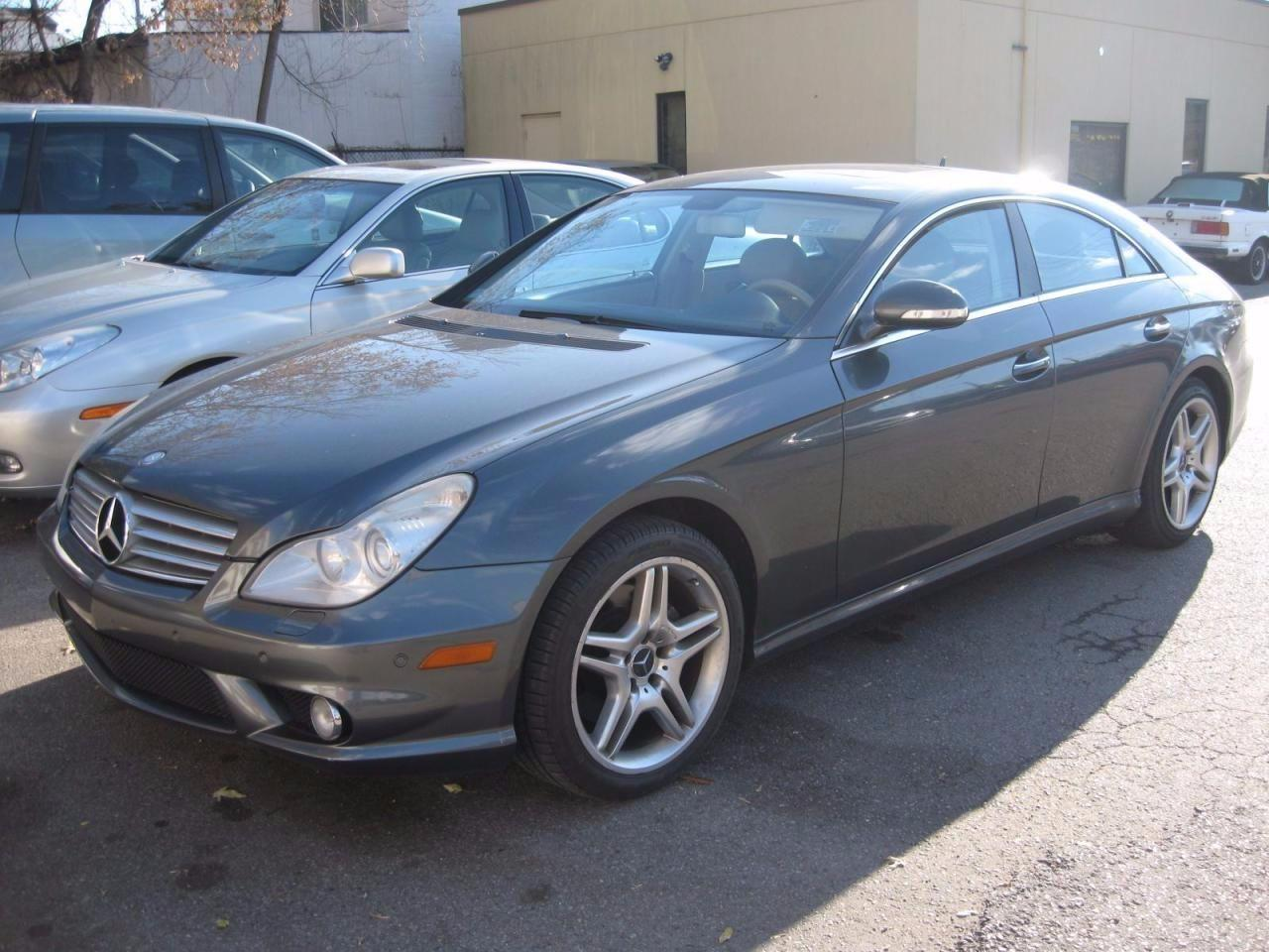 Used 2007 mercedes benz cls550 5 5l amg for sale in for Mercedes benz scarborough