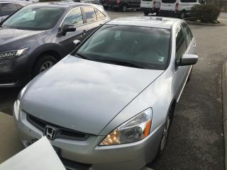 Used 2005 Honda Accord EX-L for sale in Surrey, BC