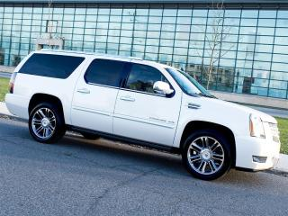 Used 2013 Cadillac Escalade ESV NAVI|REARCAM|DUAL DVD|RUNNING BOARDS for sale in Scarborough, ON