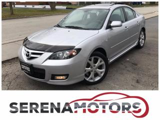 Used 2008 Mazda MAZDA3 GT | HEATED SEATS | SUNROOF | NO ACCIDENTS for sale in Mississauga, ON