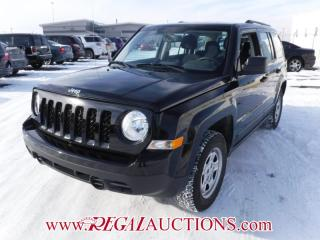 Used 2016 Jeep PATRIOT SPORT 4D UTILITY 4WD 2.4L for sale in Calgary, AB