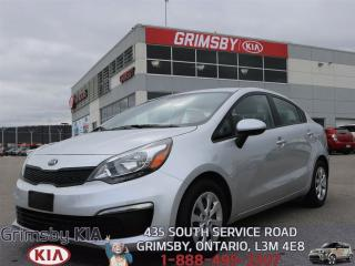 Used 2016 Kia Rio LX for sale in Grimsby, ON