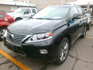 Used 2014 Lexus RX 450h Ultra Premium, Navi, DVD for sale in Aurora, ON