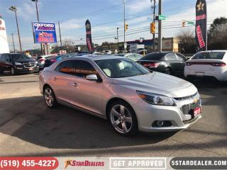 Used 2015 Chevrolet Malibu LTZ | LEATHER | ROOF | CAM for sale in London, ON
