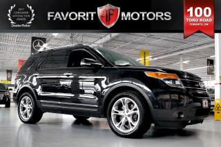Used 2013 Ford Explorer Limited FLEX FUEL AWD | 7-PASSENGER | NAV for sale in North York, ON