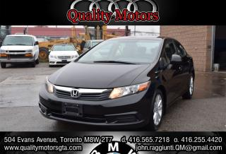 Used 2012 Honda Civic EX-L (A5) navigation for sale in Etobicoke, ON