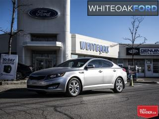 Used 2011 Kia Optima EX Luxury, LTHR, PANA ROOF, PUSH BUTTON START for sale in Mississauga, ON
