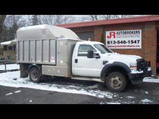 Used 2009 Ford F-550 Aluminum Chipper Dump Box for sale in Elginburg, ON