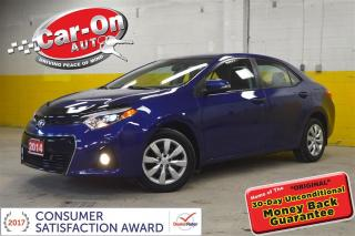 Used 2014 Toyota Corolla S  HTD SEATS REAR CAMERA  BLUETOOTH LOADED for sale in Ottawa, ON