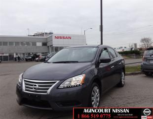 Used 2014 Nissan Sentra 1.8 S |Bluetooth|Cruise|No Accidents| for sale in Scarborough, ON