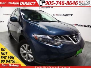 Used 2011 Nissan Murano SL| AWD| LEATHER| DUAL SUNROOF| BACK UP CAM| for sale in Burlington, ON