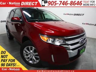 Used 2014 Ford Edge SEL| NAVI| LEATHER| DUAL SUNROOF| for sale in Burlington, ON