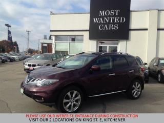 Used 2014 Nissan Murano Platinum | NAVIGATION | LANE DEP / BLIND SPOT for sale in Kitchener, ON