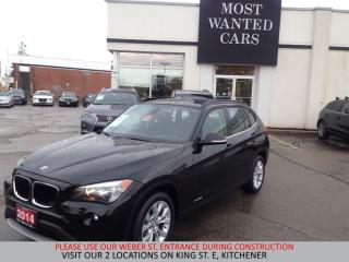 Used 2014 BMW X1 xDrive28i | PANO ROOF | SENSORS | HEATED WHEEL for sale in Kitchener, ON