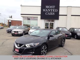 Used 2016 Nissan Maxima SV | NAVIGATION | LEATHER | CAMERA | SENSORS for sale in Kitchener, ON