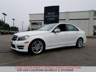 Used 2014 Mercedes-Benz C 300 4Matic NAVIGATION | CAMERA | LANE DEP. for sale in Kitchener, ON