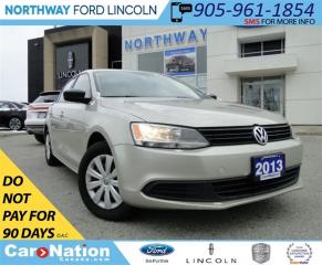 Used 2013 Volkswagen Jetta 2.0L Trendline | MANUAL | HEATED CLOTH | for sale in Brantford, ON