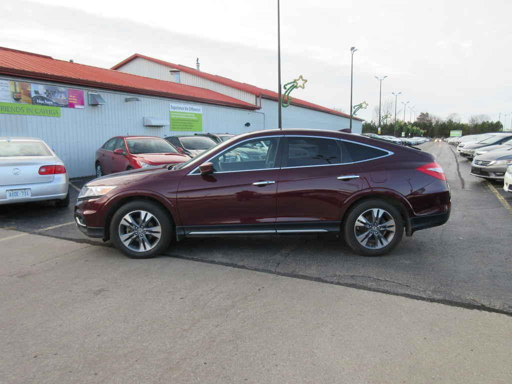 Used 2013 honda crosstour exl 4wd for sale in cayuga for Used honda crosstour for sale