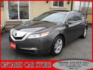 Used 2009 Acura TL TECH PKG. NAVIGATION LEATHER SUNROOF for sale in Toronto, ON