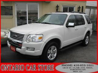 Used 2010 Ford Explorer XLT V8 4WD LEATHER SUNROOF for sale in Toronto, ON