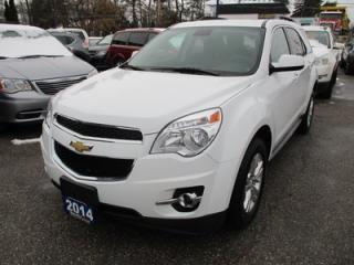 Used 2014 Chevrolet Equinox LOADED 2-LT EDITION 5 PASSENGER 2.4L - ECO-TEC.. AWD.. LEATHER.. HEATED SEATS.. NAVIGATION.. SUNROOF.. BACK-UP CAMERA.. for sale in Bradford, ON