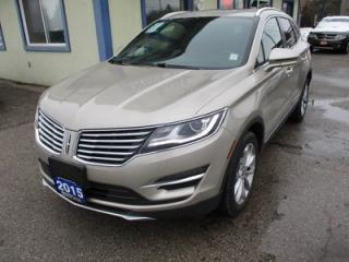 Used 2015 Lincoln MKC LOADED ALL-WHEEL DRIVE 5 PASSENGER 2.0L - DOHC.. AWD.. LEATHER.. HEATED SEATS.. NAVIGATION.. SUNROOF.. BACK-UP CAMERA.. for sale in Bradford, ON