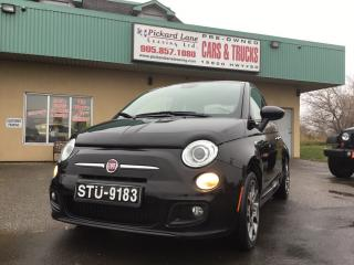 Used 2014 Fiat 500 Sport $71.20 BI WEEKLY! $0 DOWN! CERTIFIED! for sale in Bolton, ON