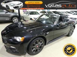 Used 2017 Fiat 124 Spider ABARTH| COVERTIBLE| AUTO for sale in Vaughan, ON
