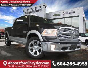 Used 2017 Dodge Ram 1500 Laramie *SINGLE OWNER* for sale in Abbotsford, BC