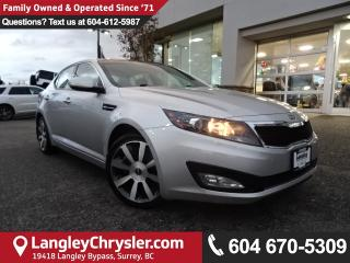 Used 2011 Kia Optima EX Luxury *LOCAL BC CAR* DEALER INSPECTED* for sale in Surrey, BC