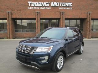 Used 2016 Ford Explorer XLT LEATHER NAVIGATION HEATED SEATS REAR CAMERA PUSH START for sale in Mississauga, ON
