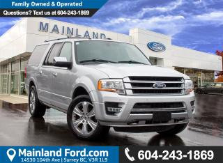 Used 2017 Ford Expedition Max Platinum NO ACCIDENTS for sale in Surrey, BC