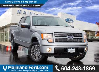 Used 2010 Ford F-150 Lariat LOW KMS, LOCAL BC for sale in Surrey, BC