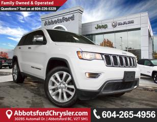 Used 2017 Jeep Grand Cherokee Limited *ACCIDENT FREE* *CONVENIENCE OPTIONS* for sale in Abbotsford, BC