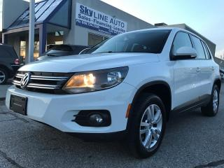 Used 2014 Volkswagen Tiguan AWD|BLUETOOTH|ALLOYS for sale in Concord, ON
