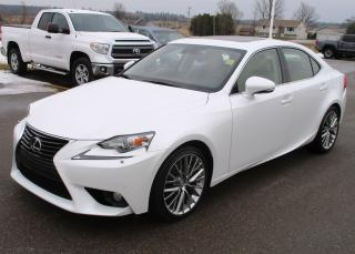 Used 2014 Lexus IS 250 EXECUTIVE PACKAGE for sale in Renfrew, ON