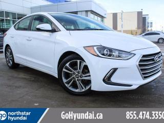 Used 2017 Hyundai Elantra GLS PUSHSTART/SUNROOF/HEATED STEERING WHEEL for sale in Edmonton, AB
